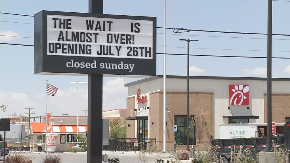 Airway Chick Fil A Location Ready For Grand Opening Kfox