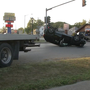 Running a red light is blamed for a two-car crash in Springfield