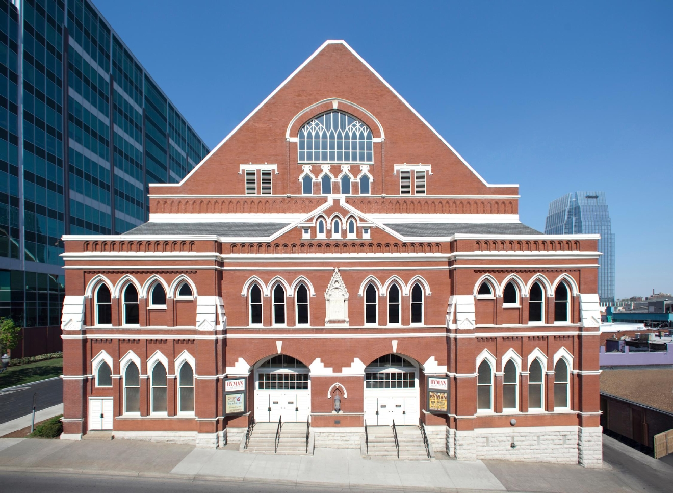 Take a tour of the Ryman Auditorium: One of the most legendary buildings in Nashville, and one of the earliest homes of the Grand Ole Opry, this downtown landmark is not to be missed. (Photo courtesy: Ryman)