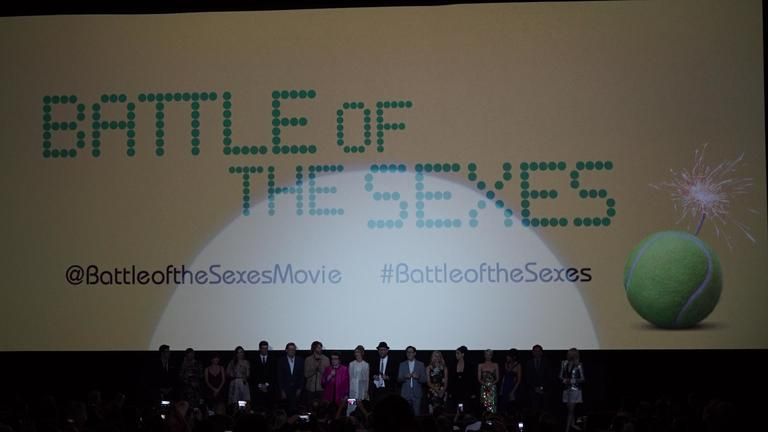 Battle of the Sexes Movie Premiere