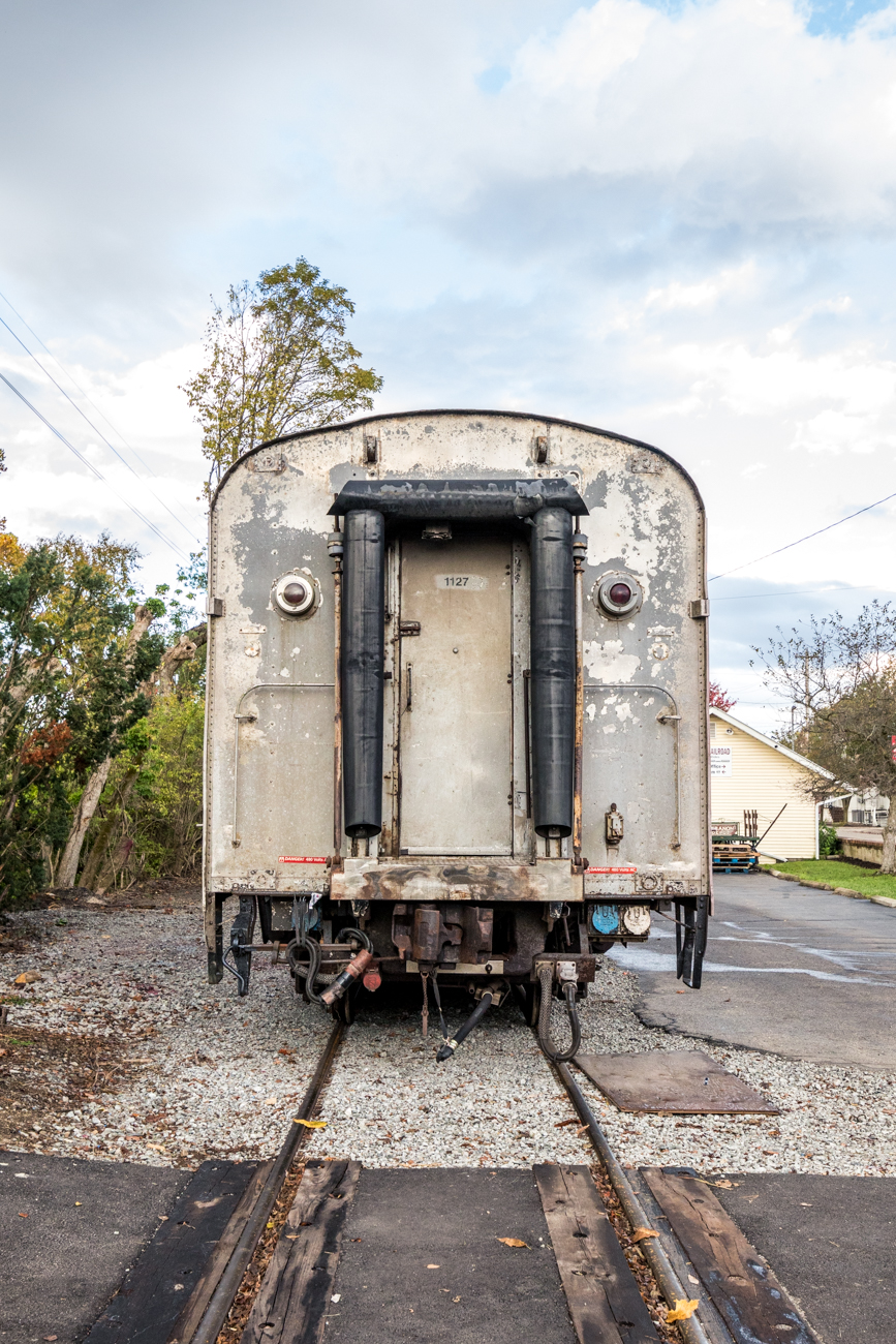 "<p>The historic railroad is operated by the Cincinnati Scenic Railway, a nonprofit organization. The trains are all ""rescued"" and restored to offer scenic and nostalgic train rides. / Image: Catherine Viox // Published: 11.11.20</p>"
