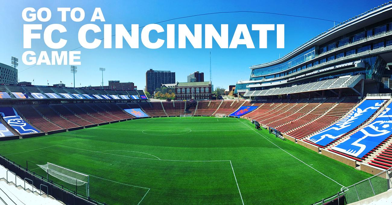 The first home game is Saturday, April 15, 2017 at Nippert Stadium. / Image: Leah Zipperstein, Cincinnati Refined // Published: 3.11.17