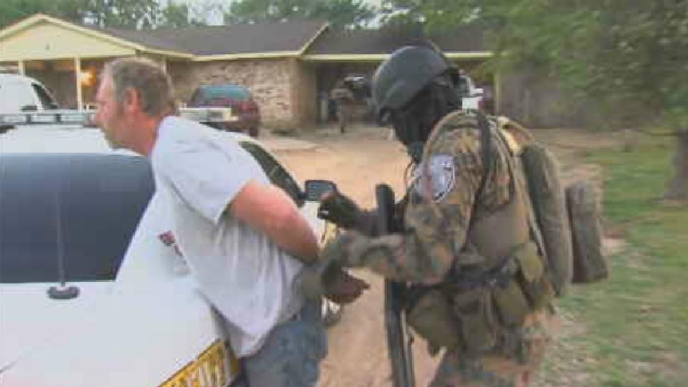 Early morning drug raid puts nearly 30 Arkansas County residents