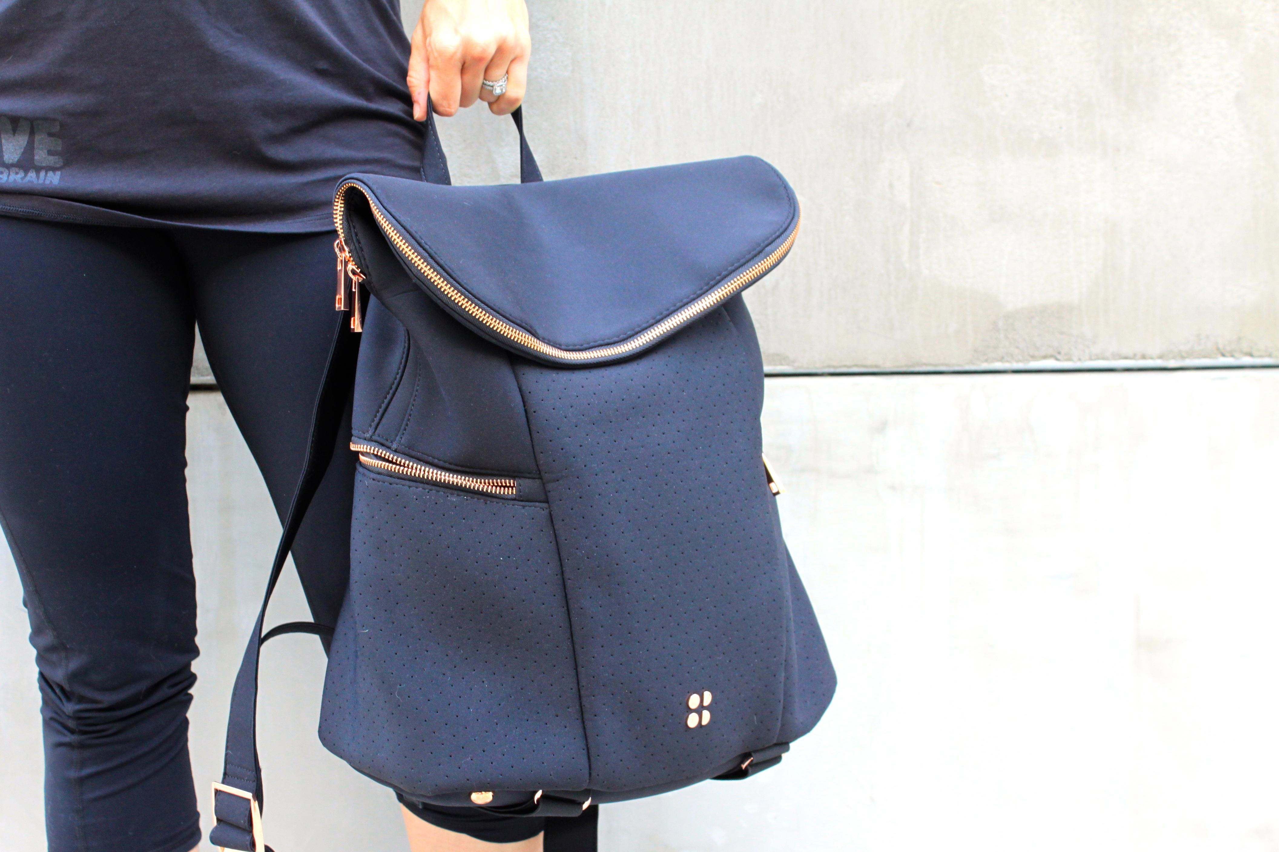 A Stylish Grown Up Backpack To Take You From The Gym Office