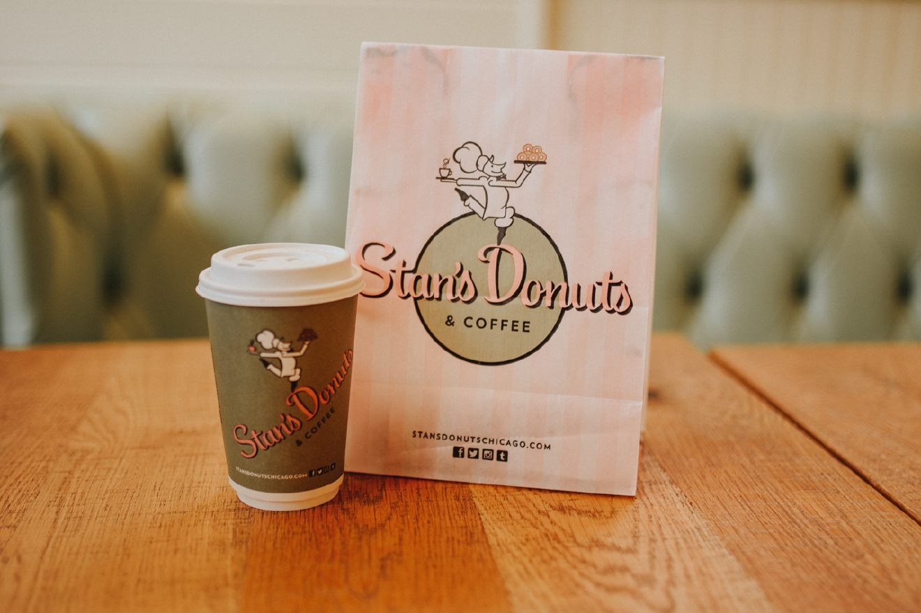 Stan's Donuts is the perfect spot for a midday donut + coffee stop. Note: There are three locations in Chicago. / Image: Brianna Long / Published 3.19.17