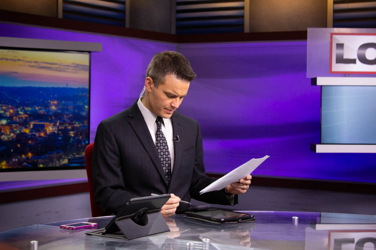Bob Herzog, Local 12 News Anchor / Image: Katie Robinson, Cincinnati Refined // Published: 10.5.18