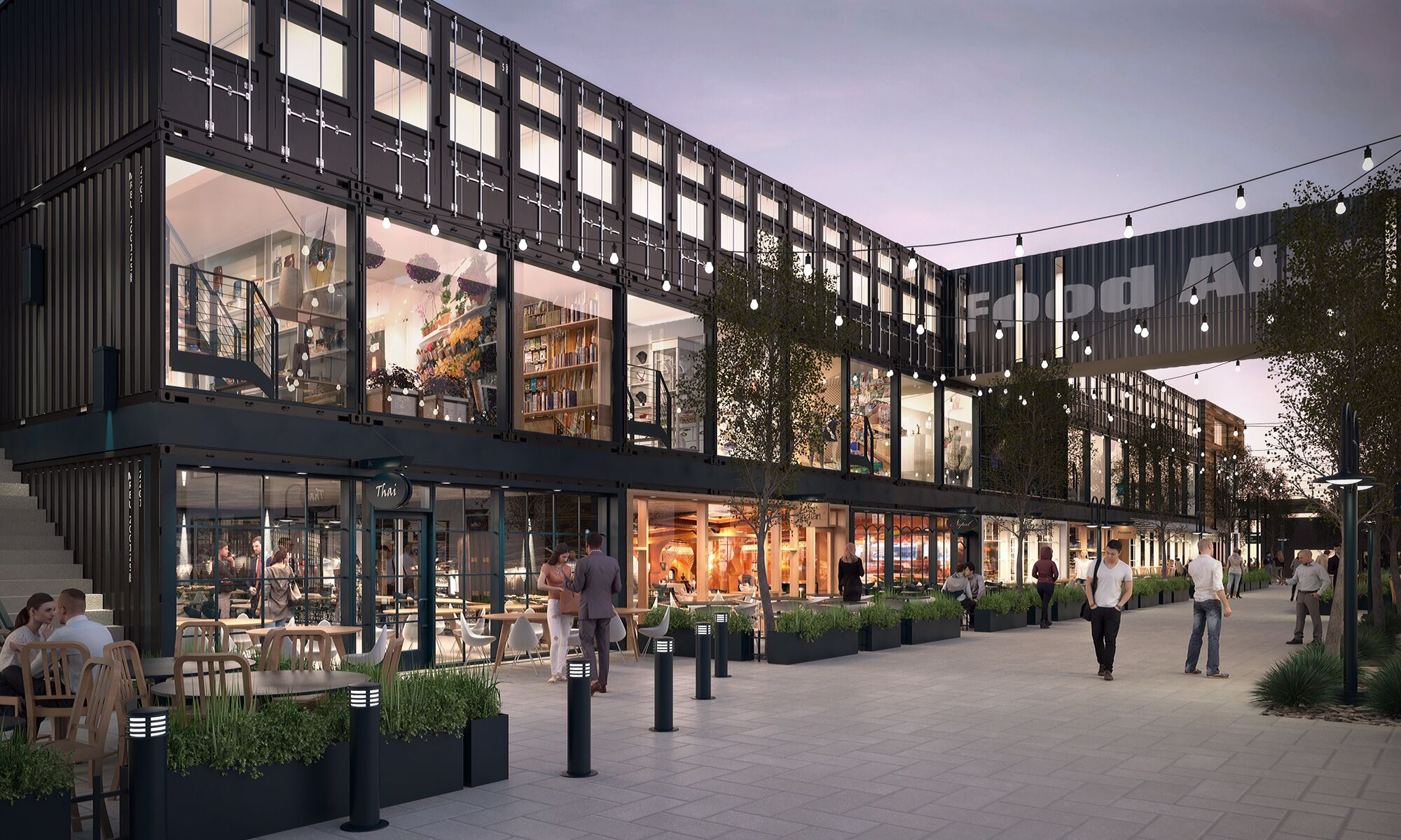 Salt lake city to get first 39 food alley 39 in 2019 kutv - Garden state plaza mall restaurants ...