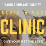 Microchip and vaccine clinic at Yakima Humane Society