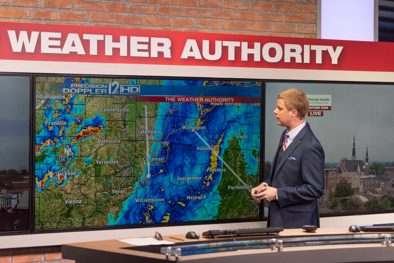 Meteorologist Scott Dimmich /  Image: Phil Armstrong, Cincinnati Refined