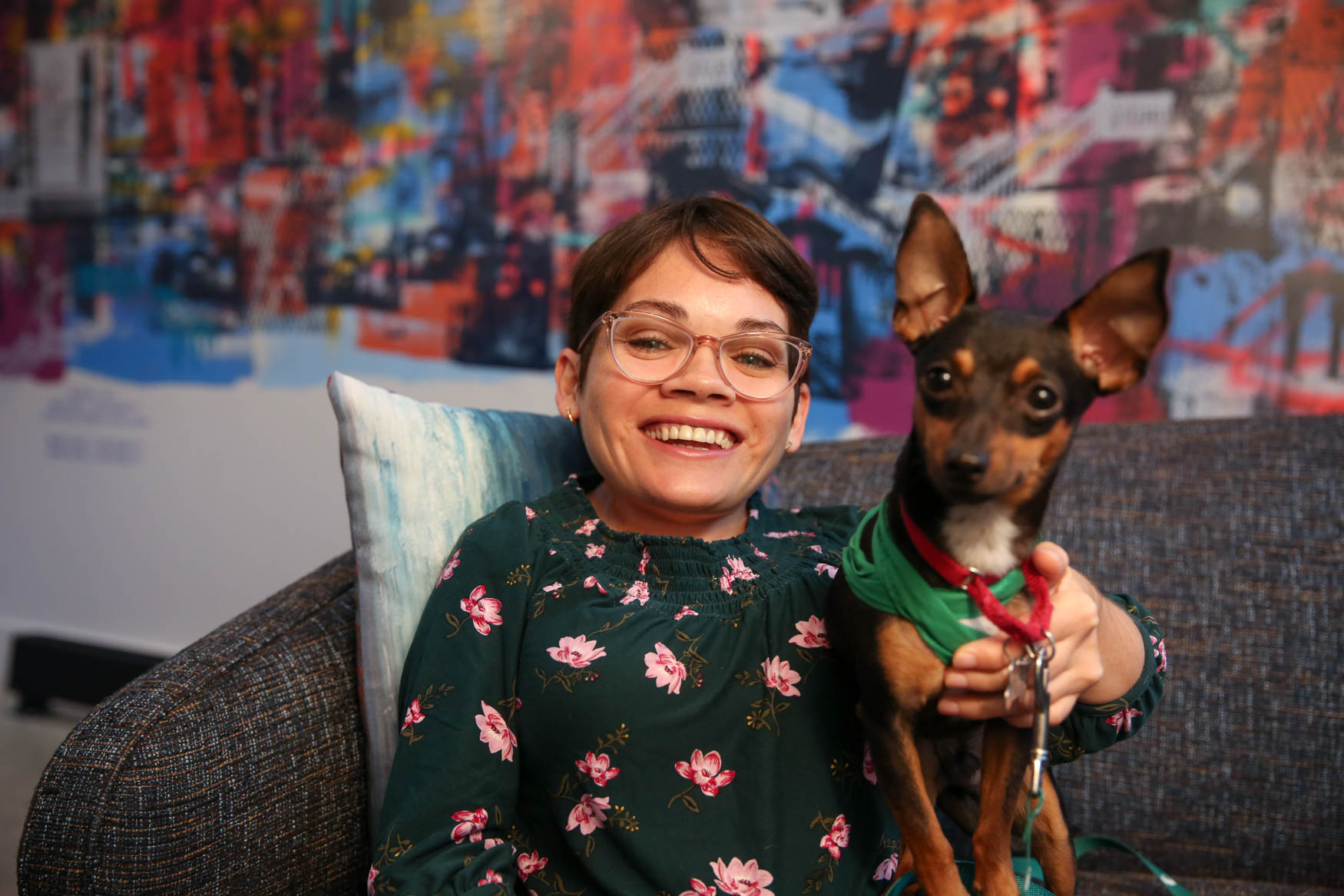Angie is originally from Lancaster, PA and is currently working as a budget analyst. She loves museums, reading, going to outdoor restaurants/bars and walking her dog. Learn more about Angie on our Facebook page. Photo location: Moxy Washington, D.C. Downtown (Image: Amanda Andrade-Rhoades/ DC Refined)