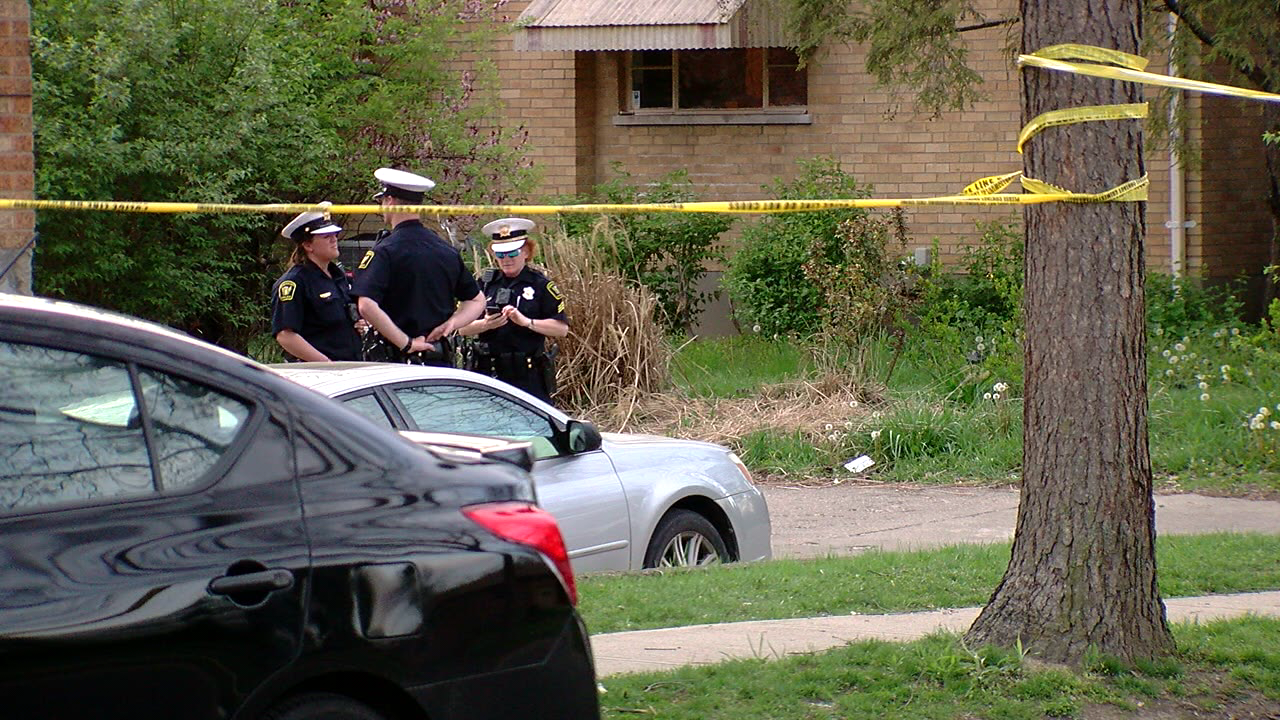 Police say Sterling Musgrave was shot on Crest Hill Avenue on Sunday (WKRC)