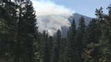 Parts of North Umpqua River closed due to fire