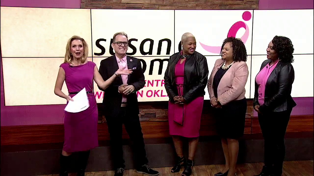 Susan G Komen of Central and Western Oklahoma and the Urban Leauge of OKC