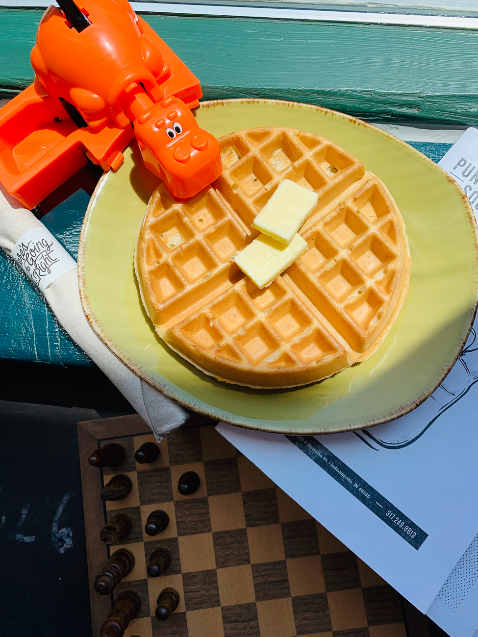 Not everything has to be complicated. Punch Bowl Social is doing Eleven's Waffles—served with butter and maple syrup. Honestly, if you don't start your days in Indy ravenously consuming season 3 without waffles, can you even call yourself a fan? They're available July 1 through 7. ADDRESS: 120 S Meridian St, Indianapolis, IN 46225 / Image courtesy of Visit Indy // Published: 6.26.19