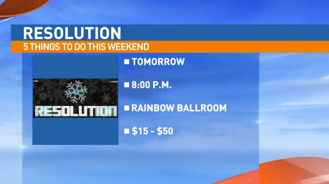 Resolution Saturday at the Rainbow Ballroom in downtown Fresno