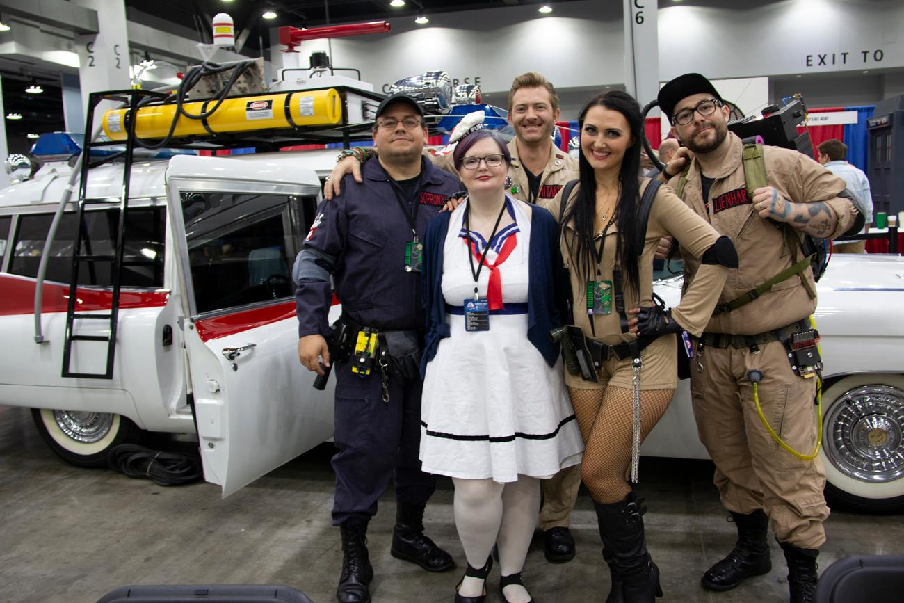 We Marveled At Fan Costumes Celebrity Sightings At The Cincy - Car show duke energy center