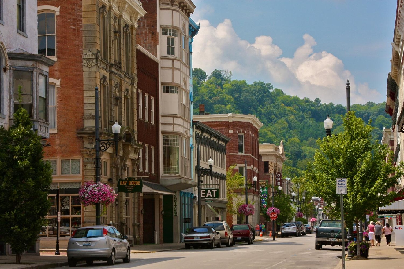 Maysville is an hour and thirty minutes southeast of Cincinnati / Image: Molly Paz // Published: 6.4.19