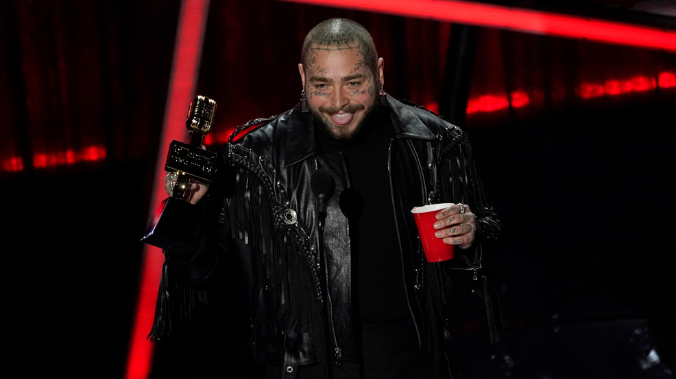 Post Malone owns Billboard Awards, Legend shines onstage