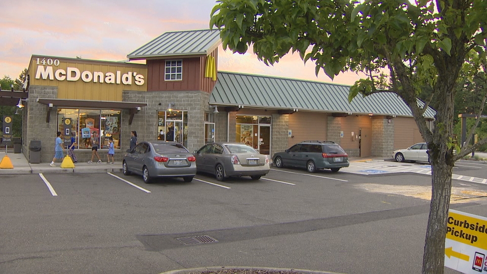 Car hits 2 women in Auburn McDonald's parking lot; 1 airlifted