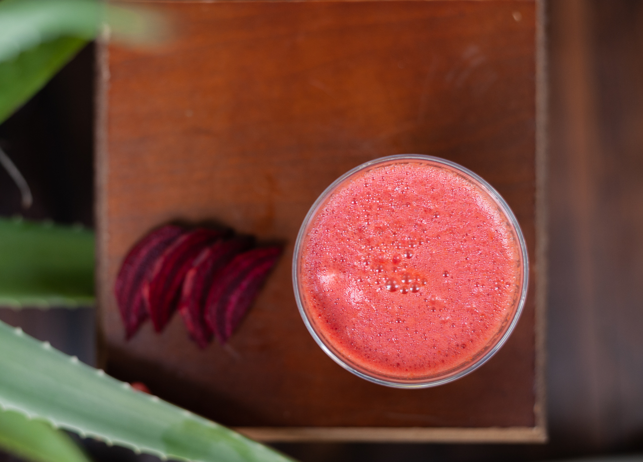 Beetnick Juice: carrot, organic apple, beet, organic celery, and organic ginger / Image: Kellie Coleman // Published: 12.27.20