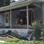 Car crashed into a Springfield woman's home