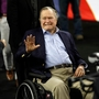 Reports: George H.W. Bush back in hospital