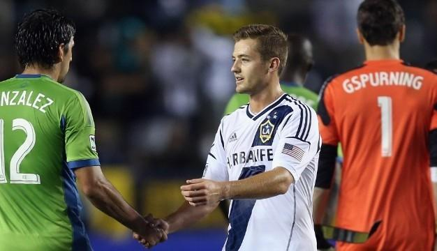 Robbie Rogers was the first openly gay male athlete to play in a professional American sporting match May 26 when he took the field for Los Angeles Galaxy against the Seattle Sounders.