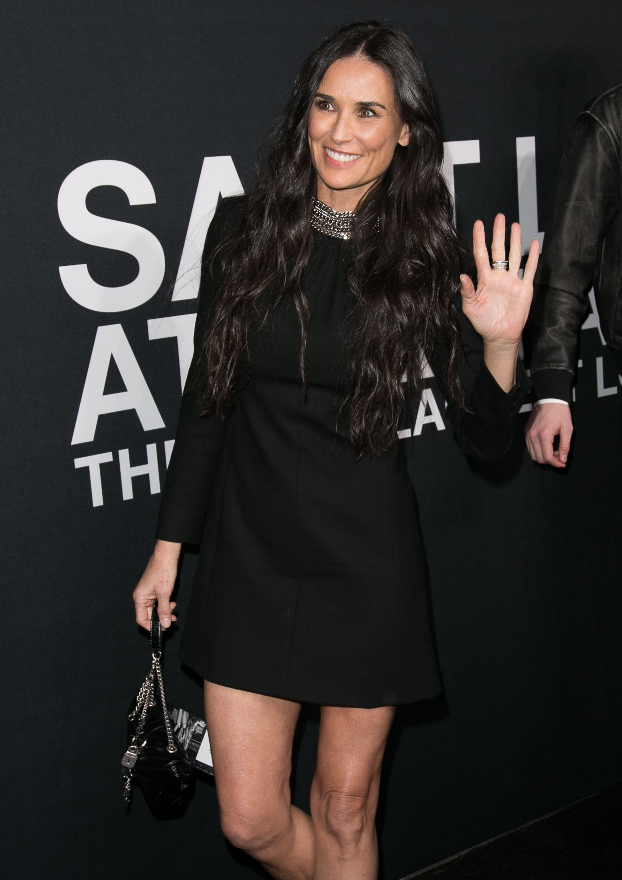 Saint Laurent at Hollywood Palladium - Arrivals                                    Featuring: Demi Moore                  Where: Los Angeles, California, United States                  When: 10 Feb 2016                  Credit: Brian To/WENN.com