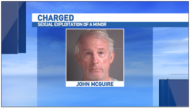 Dr. John McGuire, of Asheville, has been arrested and charged with sexual exploitation of a minor for the second time. (Photo credit: Vinelink)