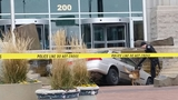 Police: Man upset with court tries to crash into courthouse