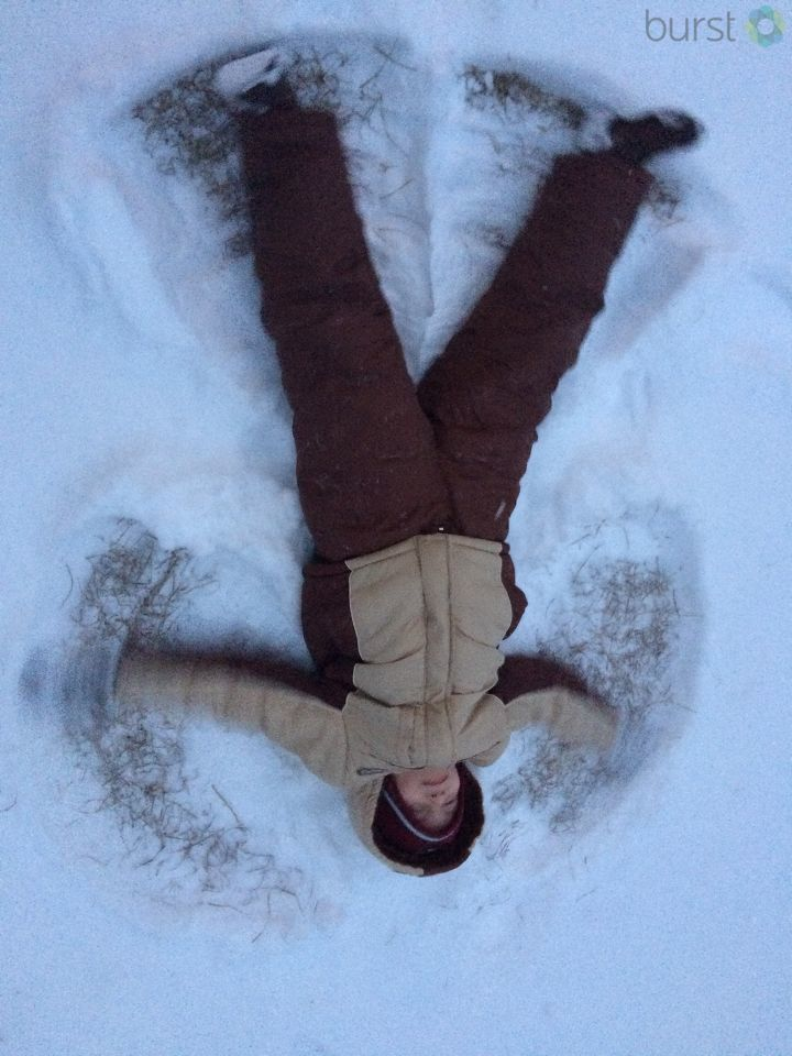 Snow angel (Submitted by Matthew Turner)
