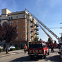 7-story apartment fire sends smoke plume over Seattle