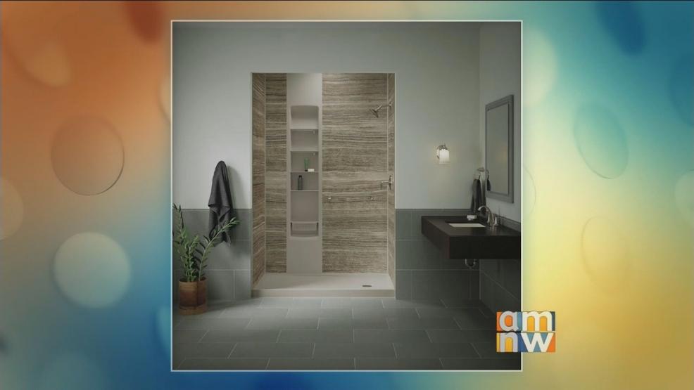 Pacific Bath Company: Kohler Walk-In Shower | KATU