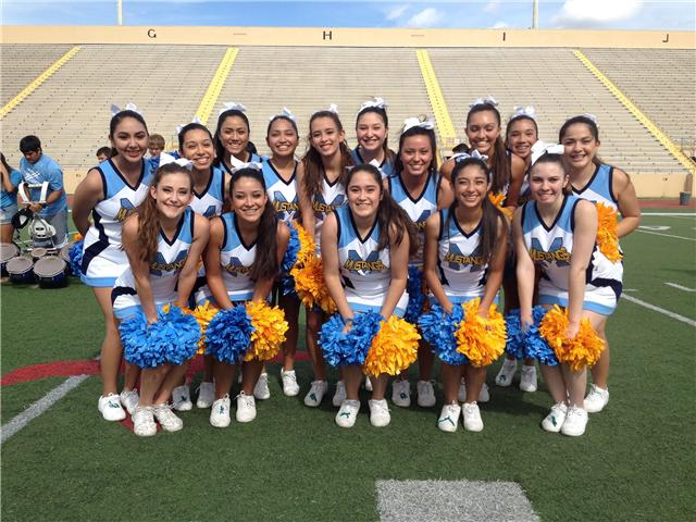 McAllen Memorial Cheerleaders