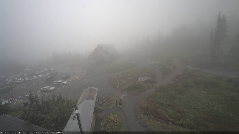The snow is gone in Paradise: Mt. Rainier ranger station has official melt-out