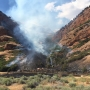 Northern Utah campgrounds, reservoir closed by wildfire
