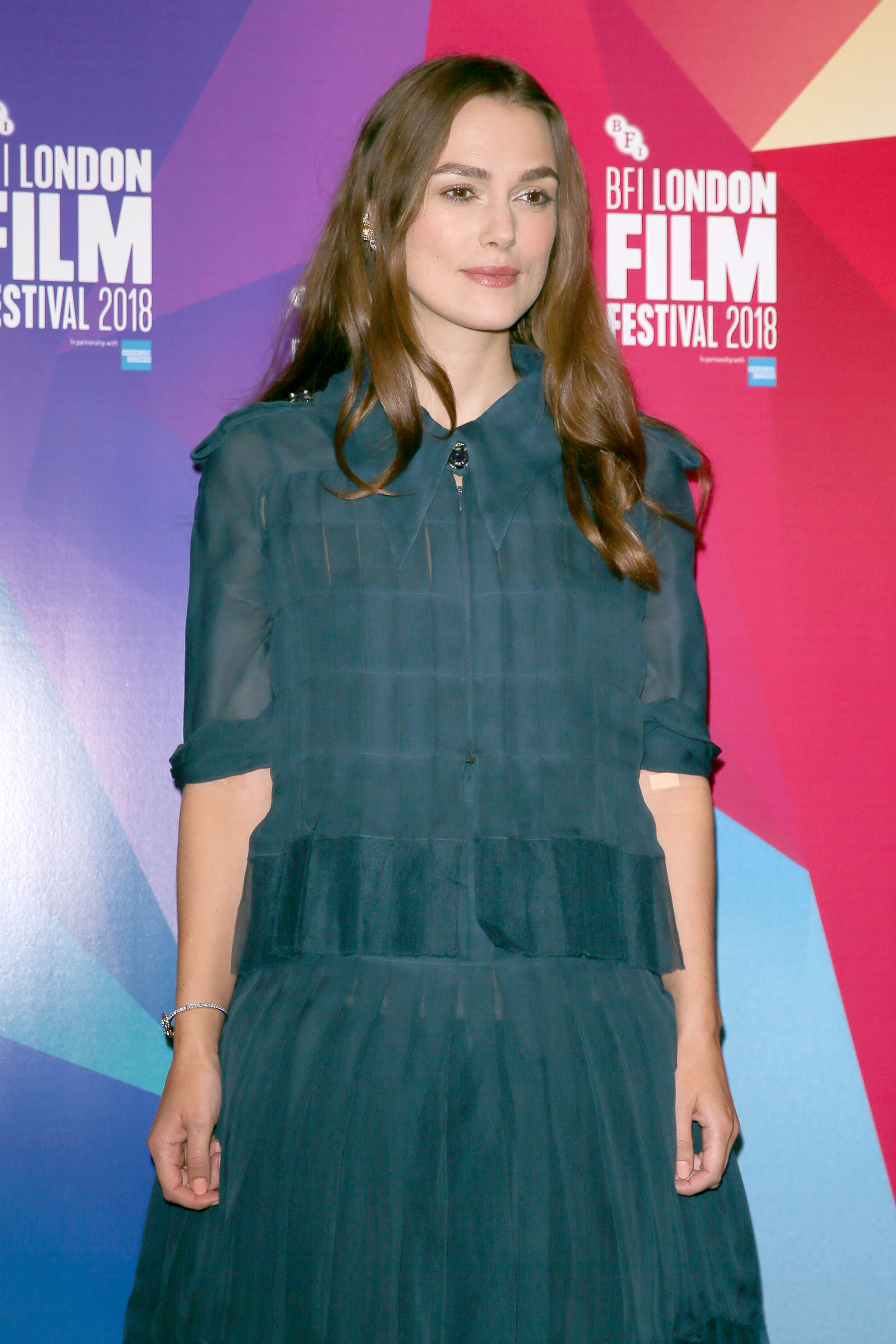 Keira Knightley arriving at London Film Festival to give a talk about her career and promote her new film 'Colette' at the BFI - LondonFeaturing: Keira KnightleyWhere: London, United KingdomWhen: 12 Oct 2018Credit: WENN.com