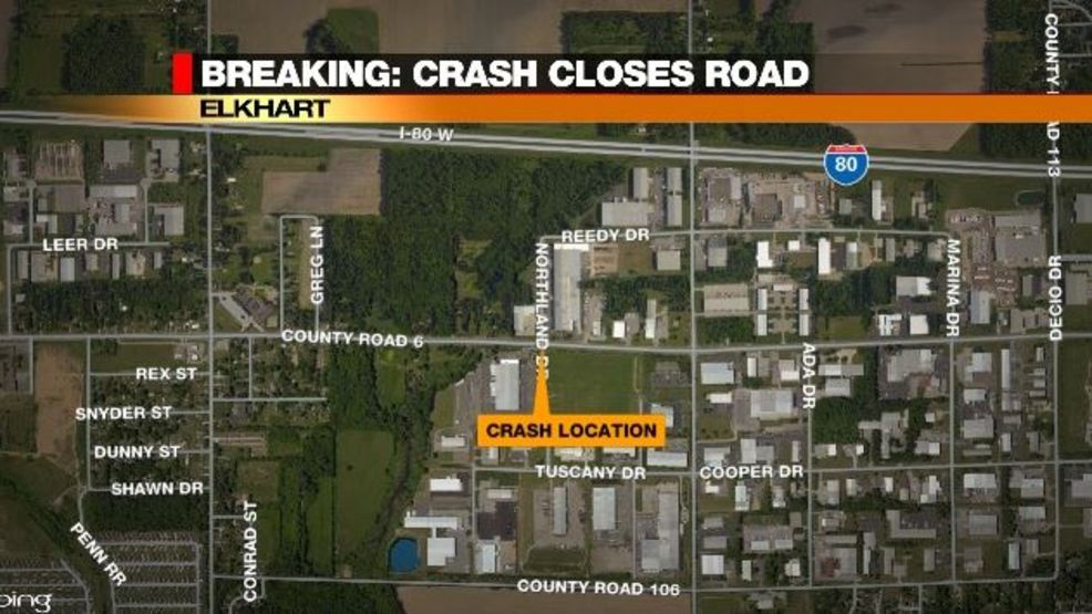 TRAFFIC ALERT: County Road 6 closed after accident | WSBT