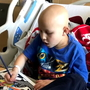 "Lymphoma patient's ""lucky colors"" to boost Kasey Kahne at NASCAR"