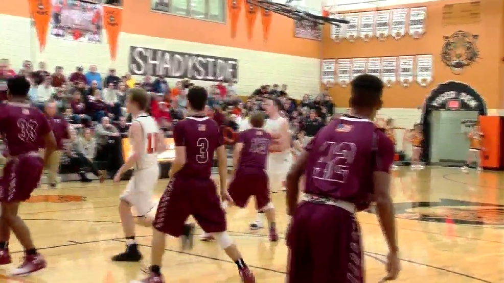12.20.16 Video- Wheeling Central vs. Shadyside- high school boys basketball