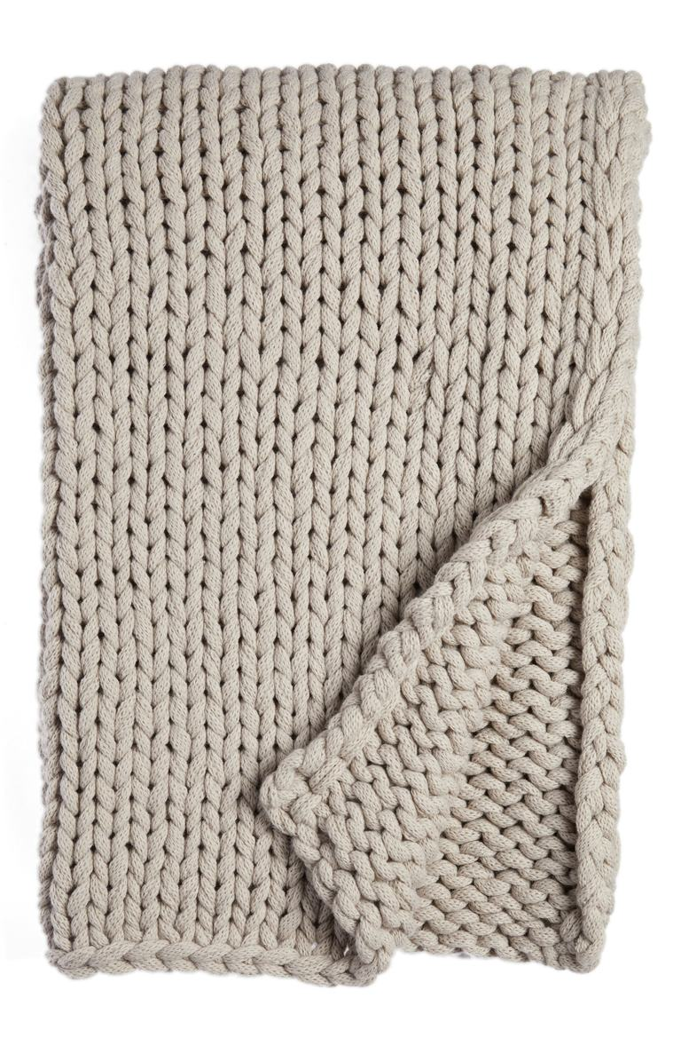 Jersey Rope Throw. Sale: $65.90 / After Sale: $99.00. (Image: Nordstrom){ }