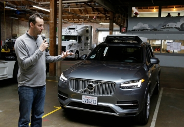 Google's self-driving car company escalates battle with Uber