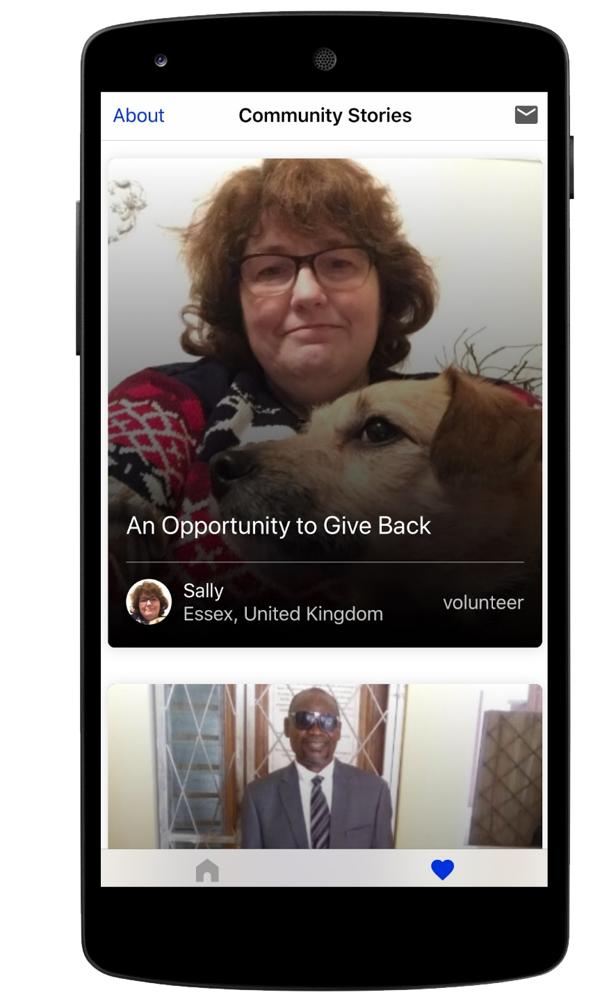 Be My Eyes connects vision-impaired individuals with a vast network of volunteers to help with daily tasks through video calls.