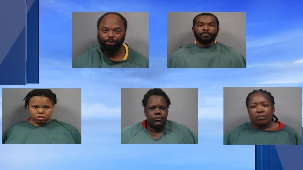 Top L-R: Kinlaw, J. Lucas; Bottom L-R: M. Lucas, Potter, Pastures (Source: Newberry County Detention Center)<p></p>