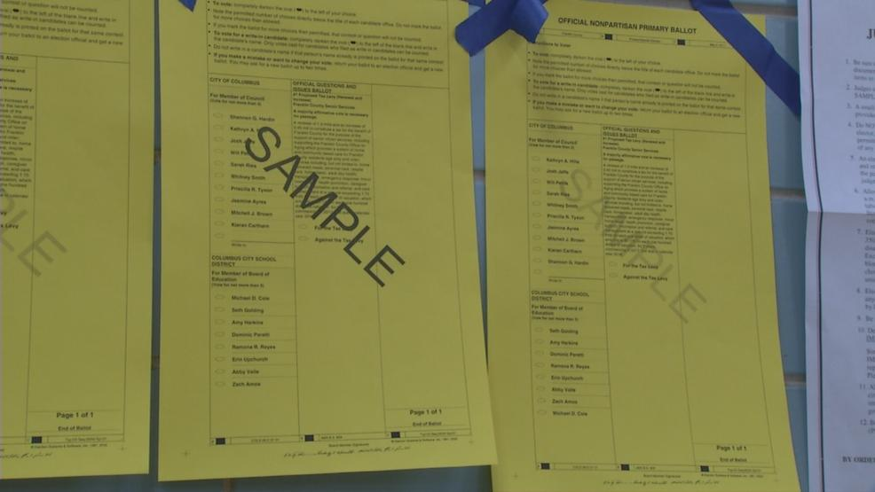 Turnout has been light during Tuesday's primary election but there are new names on the ballot. (WSYX/WTTE)