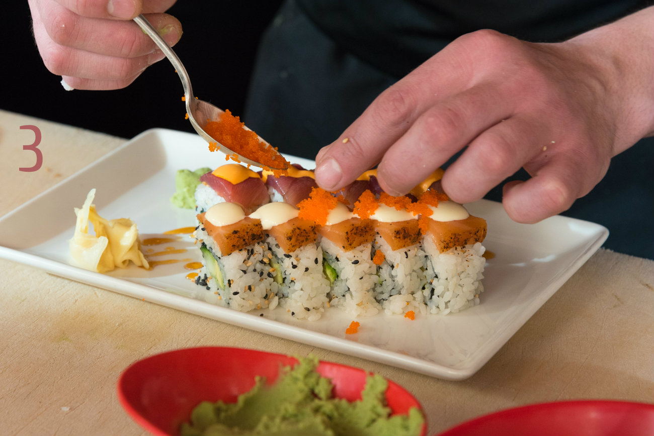 #3 - Kaze taught us how to make the perfect sushi roll, and we even put together a video to capture the brilliance forever. It's in the Eat & Drink section. Check it out! / Image: Phil Armstrong, Cincinnati Refined