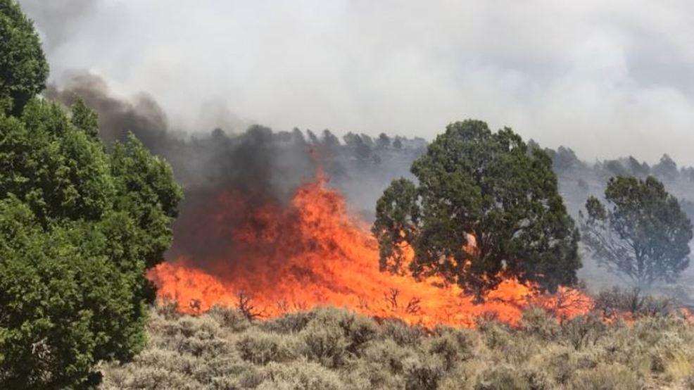 utah on fire wildfires erupt across the state kutv