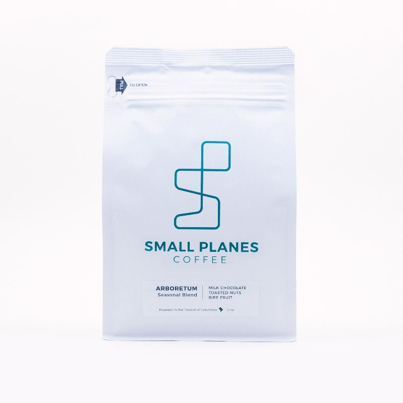 Small Planes Coffee // Price: $15-$21{&nbsp;} // Buy at Peregrine Espresso, Shop Made in DC, or online // www.peregrineespresso.com // (Image: Peregrine Espresso)<p></p>