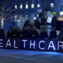 Mainers rally for healthcare outside State of the State address