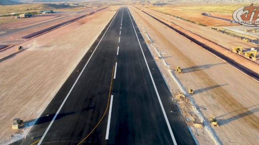 New runway at St  George Regional Airport is completed | KJZZ